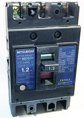 Mitsubishi Electric Corporation MB30-SP 1.2A Motor Protection Circuit Breaker, MB Frame, 1.2A AC 3-Pole, 0.4kW 400V