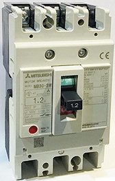 Mitsubishi Electric Corporation MB30-SW 1.2A Motor Protection Circuit Breaker, MB Frame, 1.2A AC 3-Pole, 0.4kW 400V