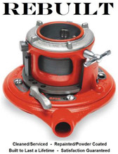Ridgid Model 65R Manual Receding Pipe Threader, 1-2 Inch Capacity, With NPT with 1 Set High-Speed Dies