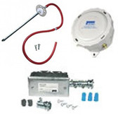 Bapi ZPS-20-SR05-EU-ST-FMK Zone Pressure Sensor, 0-5 In W.C., With Static Pressure Probe, Field Mounting Kit