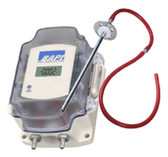"Bapi ZPS-20-SR73-BB-ST-D ZPS Series Differential Pressure Transmitter, 4-20 mA, 0-2.5"" WC, With Display"