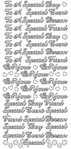 To a Special Friend Sticker
