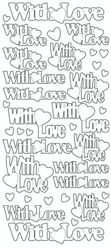 With Love Sticker