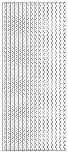 Wave Borders Sticker