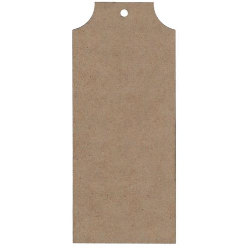 Chipboard Tag Set 1, Natural, 5pc