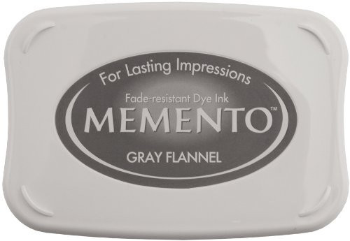 Memento Ink Pad in Gray Flannel