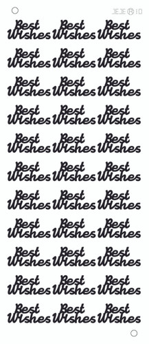 Best Wishes Sticker