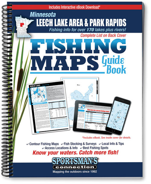 Leech lake area mn fishing maps sportsmans connection fandeluxe Choice Image