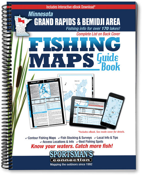 Grand rapids area mn fishing maps sportsmans connection fandeluxe Image collections