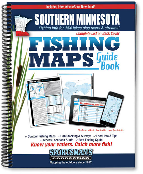 Southern Ohio Fishing Map Guide Sportsmans Connection - Kiser lake map