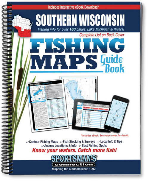 Southern Wisconsin Fishing Maps Sportsmans Connection