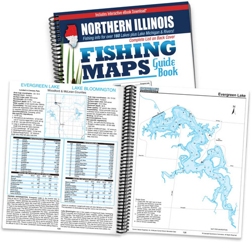 Northern Illinois Fishing Maps Sportsmans Connection - Map of northern illinois