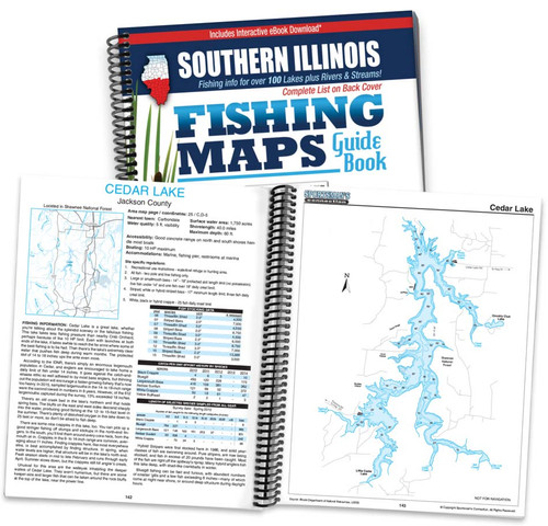 Southern Illinois Fishing Map Guide Sportsmans Connection - Fishing contour maps