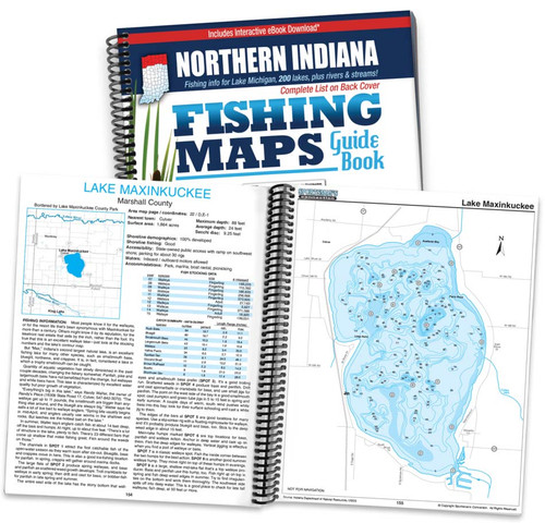 Northern Indiana Fishing Maps Sportsmans Connection
