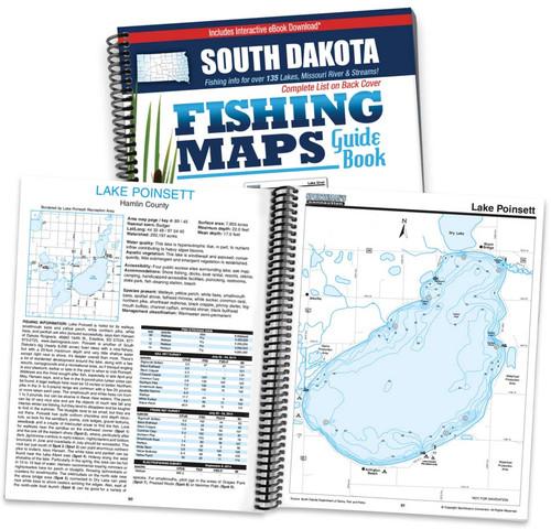 South dakota fishing map guide sportsman 39 s connection for South dakota fishing