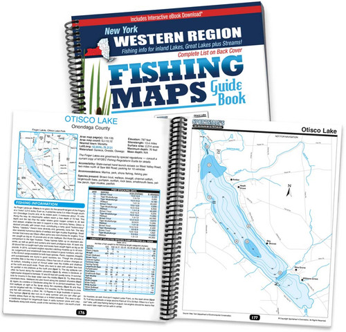 Western new york fishing map guide sportsman 39 s connection for New york fishing
