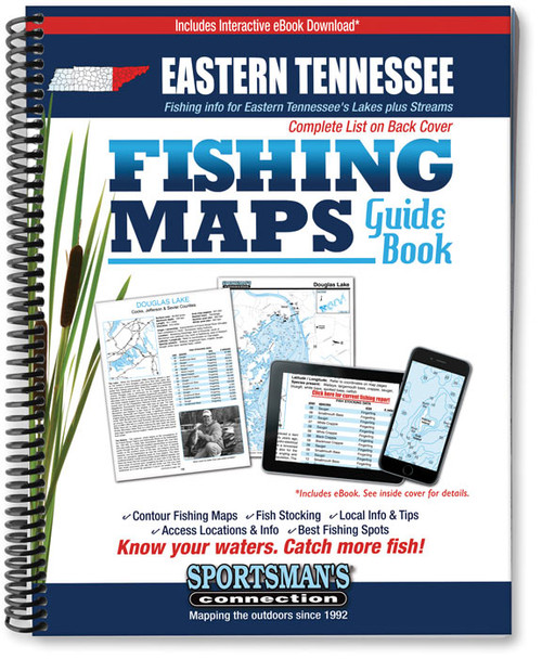 Eastern tennessee fishing map guide sportsman 39 s connection for Tennessee fishing guide