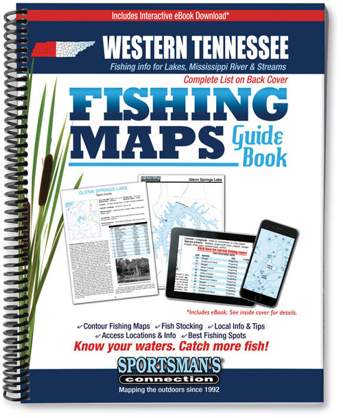 Western tennessee fishing map guide sportsmans connection fandeluxe Images