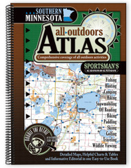 Southern Minnesota All-Outdoors Atlas & Field Guide cover - your complete guide to all of the outdoor opportunities the region has to offer