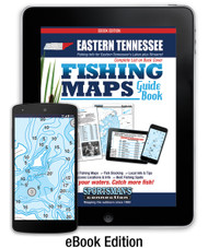 Eastern Tennessee Fishing Map Guide - 2016 eBook Edition
