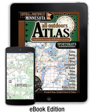 Central & Northwest Minnesota All-Outdoors Atlas eBook Edition