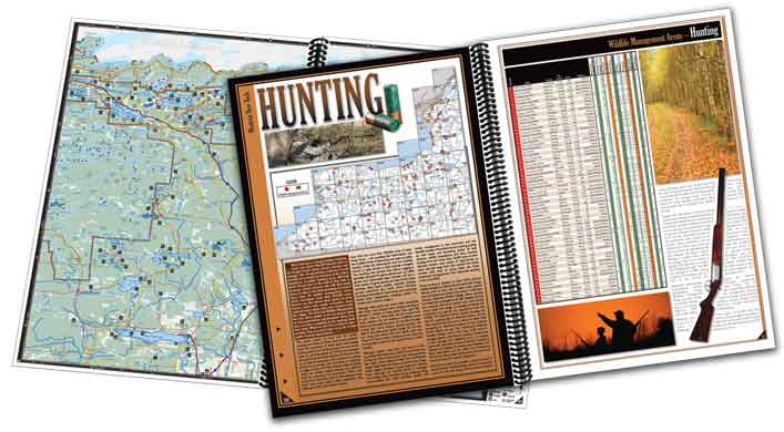 All-Outdoors Atlas & Field Guide sample pages