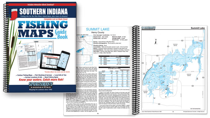 Indiana Fishing Map Guide
