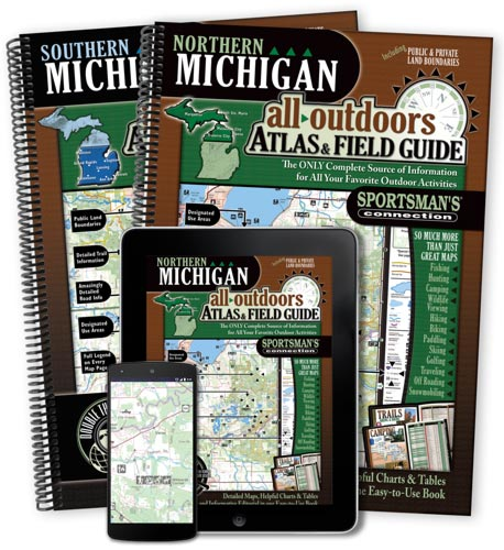 Michigan All-Outdoors Atlas & Field Guides