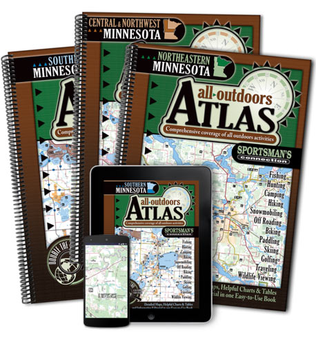 Minnesota All-Outdoors Atlas & Field Guides