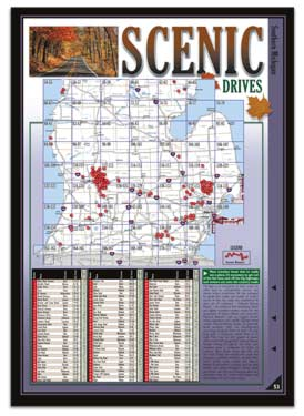 Michigan All-Outdoors Atlas touring pages
