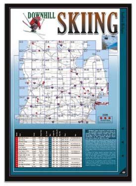 Michigan All-Outdoors Atlas Skiing Overview