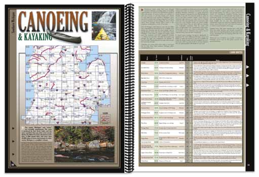 Michigan All-Outdoors Atlas Hiking Overview