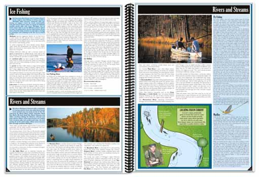 Michigan All-Outdoors Atlas Fishing Overview
