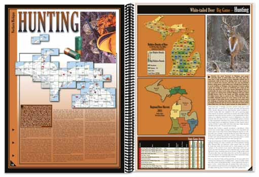 Michigan All-Outdoors Atlas Hunting Overview