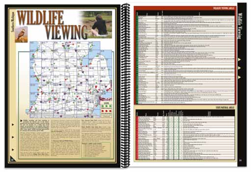 Michigan All-Outdoors Atlas Wildlife Viewing Overview