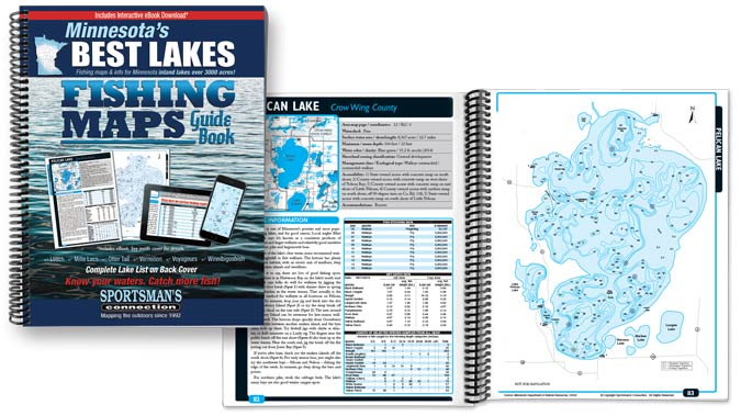 Minnesota Best Lakes Fishing Map Guide