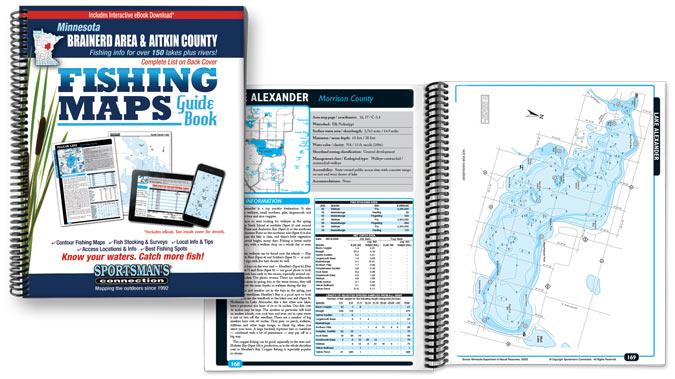 Minnesota Fishing Map Guides
