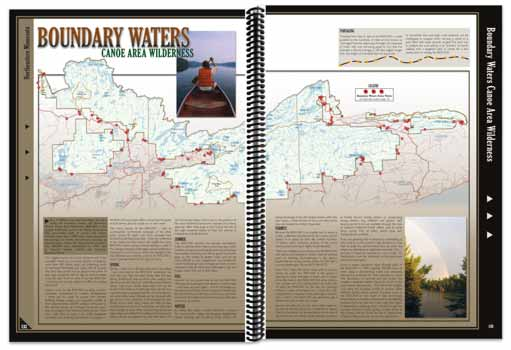 Minnesota All-Outdoors Atlas Boundary Waters Overview