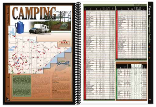 Minnesota All-Outdoors Atlas Camping Overview
