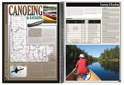 Minnesota All-Outdoors Atlas Hiking Overview