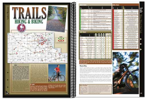 Minnesota All-Outdoors Atlas trail pages