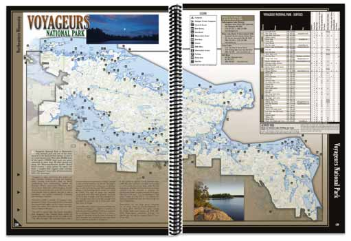 Minnesota All-Outdoors Atlas Voyageurs Overview