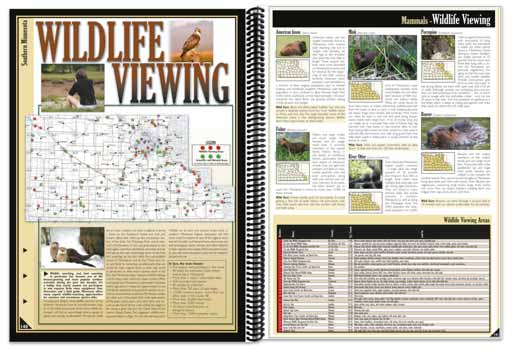 Minnesota All-Outdoors Atlas Wildlife Viewing Overview