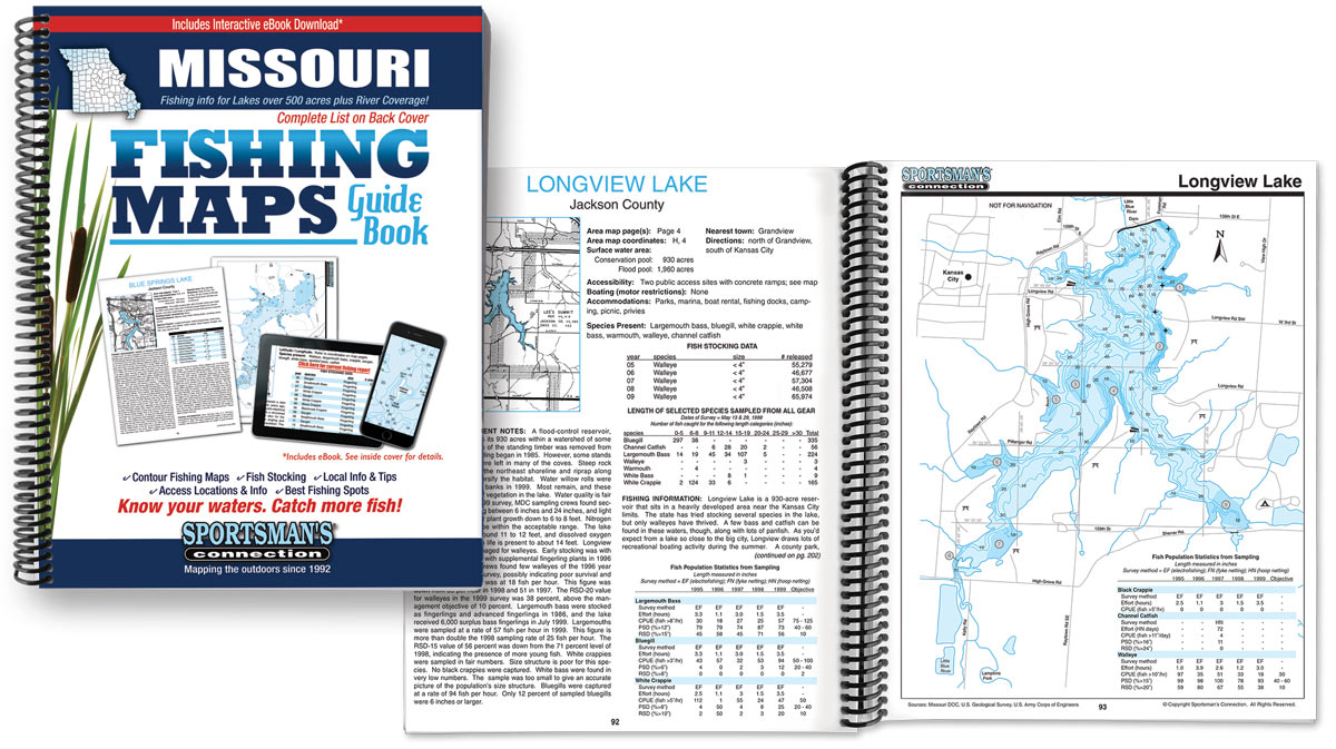 Missouri Fishing Map Guide