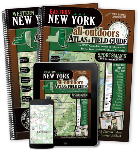 New York All-Outdoors Atlas & Field Guides