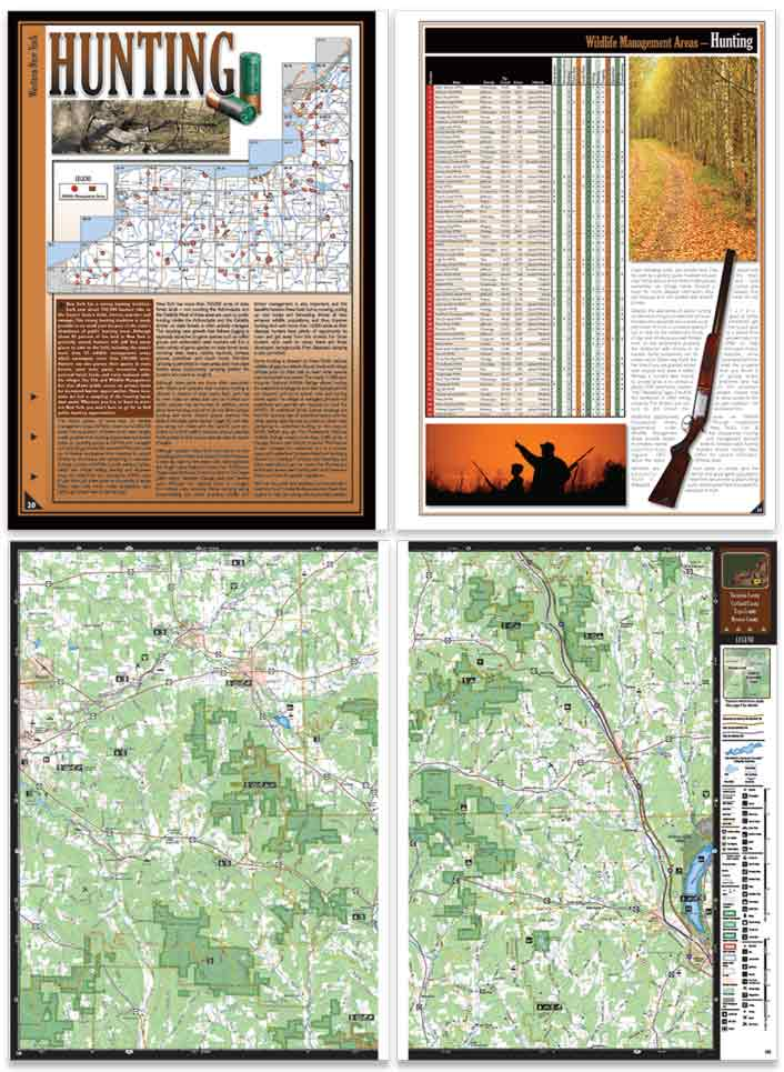 New York All-Outdoors Atlas sample pages
