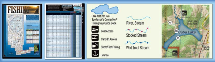 New York All-Outdoors Atlas Fishing Overview