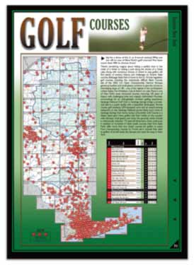 New York All-Outdoors Atlas golfing pages