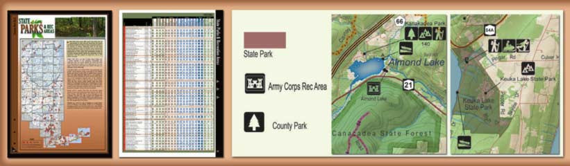 New York All-Outdoors Atlas State Parks Overview