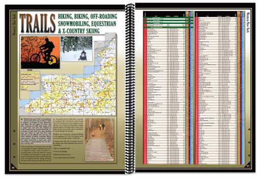 New York All-Outdoors Atlas trail pages